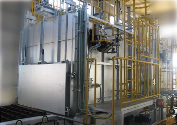 アルミニウム合金T6処理設備
