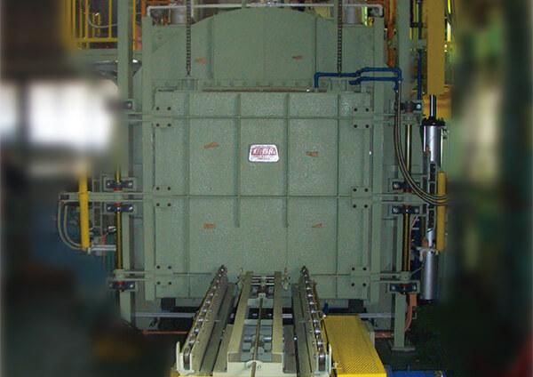 ハンドラー型バッチ式無酸化焼鈍炉