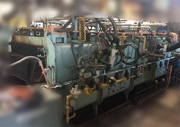 メッシュベルト式テンパー炉
