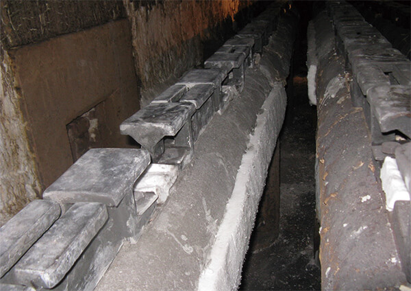 炉内ビームの補修・交換