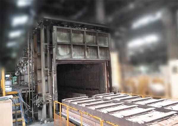 台車型焼鈍炉