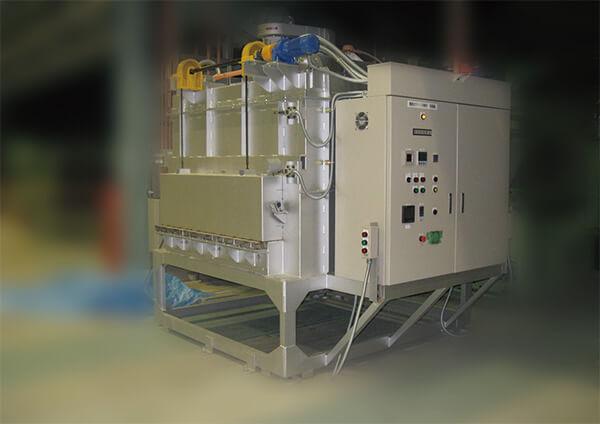 電熱式ダイス予熱炉