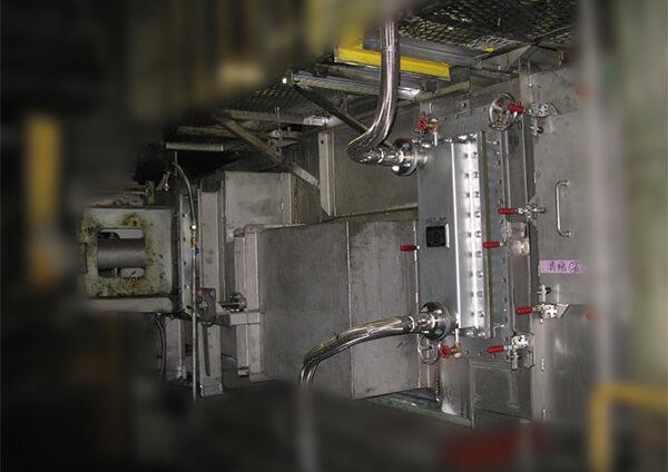 縦型APL冷却帯更新